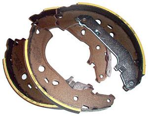 Задние колодки барабанные оригинал на форд фокус 2