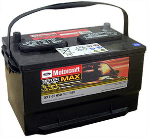 Ford Motorcraft Battery Bxt 65 650